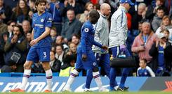 N'Golo Kante will miss out in tonight's second leg of Chelsea's Europa League semi-final against Eintracht Frankfurt due to a hamstring issue. Photo: REUTERS/Peter Nicholls