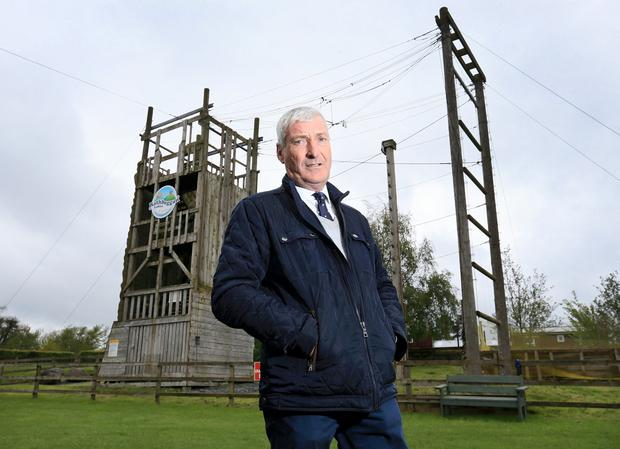 Spiralling costs: Dave Robinson will close his Rathbeggan Family Adventure Park, near Dunshaughlin, Co Meath, in August. Photo: Frank McGrath