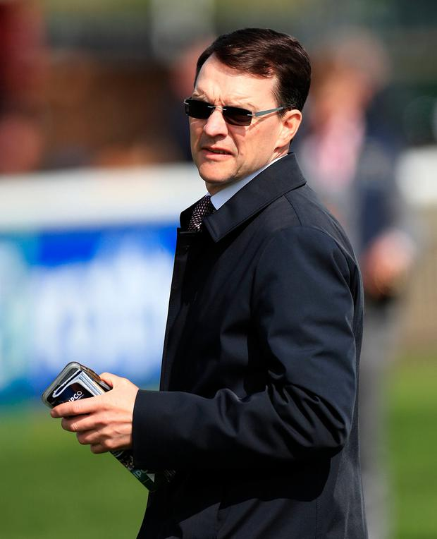 Trainer Aidan O'Brien. Photo: Mike Egerton/PA Wire
