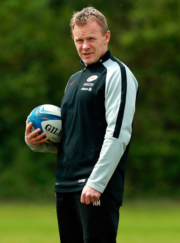 Mark of quality: Mark McCall has been a revelation in his time at Saracens. Photo: David Rogers/Getty Images