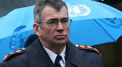 Overtime budget concerns: Garda Commissioner Drew Harris. Picture: Collins