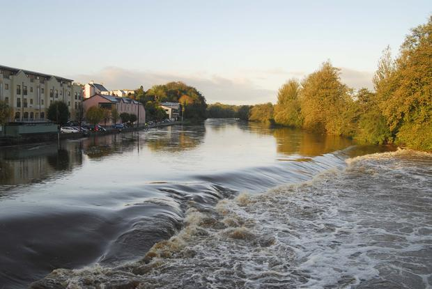 'Neglect': The River Blackwater in Fermoy, Co Cork. Photo: Provision
