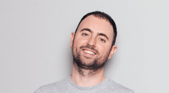 Eoghan McCabe: The 34-year-old Dubliner works from Intercom's base in California
