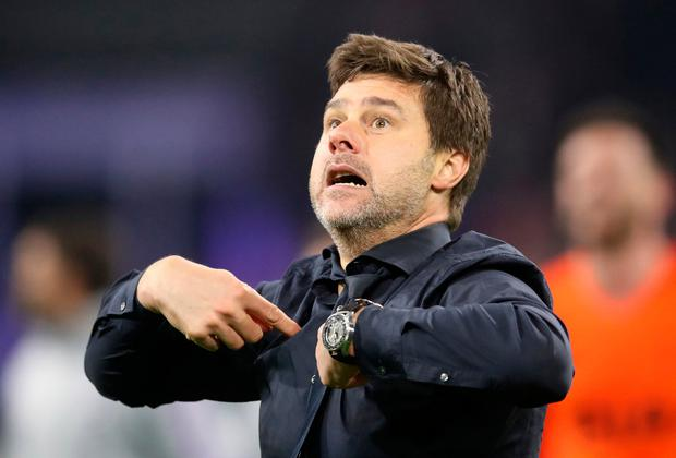 Tottenham Hotspur manager Mauricio Pochettino. Photo: Adam Davy/PA Wire.