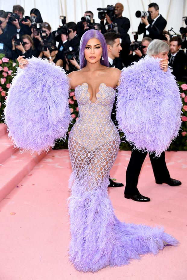 Kylie Jenner attends The 2019 Met Gala Celebrating Camp: Notes on Fashion at Metropolitan Museum of Art on May 06, 2019 in New York City. (Photo by Dimitrios Kambouris/Getty Images for The Met Museum/Vogue)