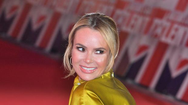 Judge Amanda Holden secured the band a place in the live shows. (John Stillwell/PA)