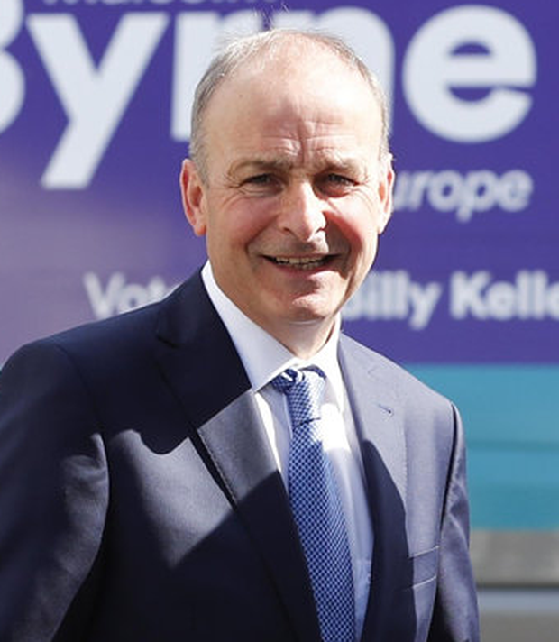 Veteran: Micheál Martin on the campaign trail in Tipperary. Photo: Conor McCabe Photography Ltd