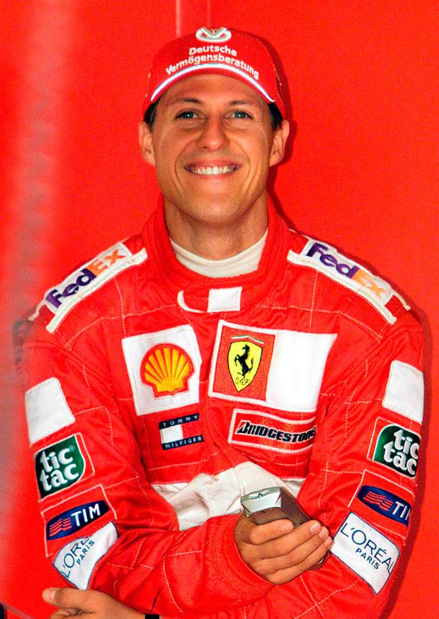 Schumacher holds a record seven F1 titles and 91 grand prix victories. Photo: PA Wire