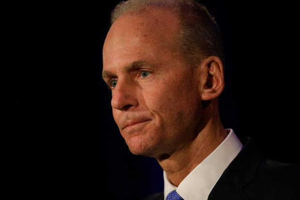 Admission of fault: Boeing chief Dennis Muilenburg. Photo by Joshua Lott-Pool/Getty Images