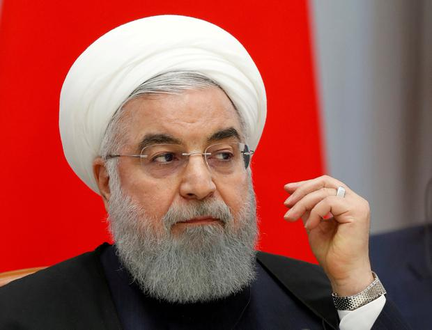 Wary: Iranian President Hassan Rouhani fears new economic hardship. Photo: Sergei Chirikov/File Photo