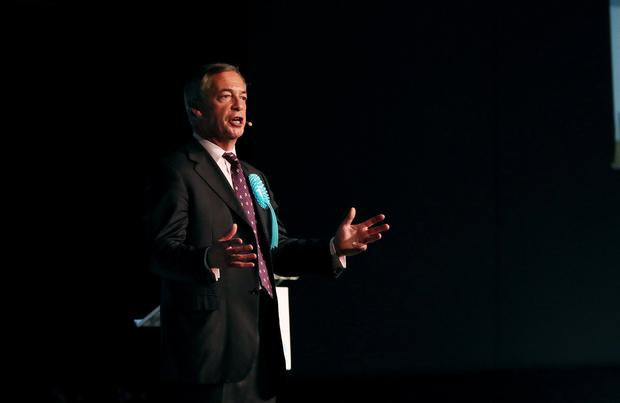 'Nigel Farage has made a career of influencing UK politics from the outside.' Photo: Reuters/Scott Heppell/File Photo
