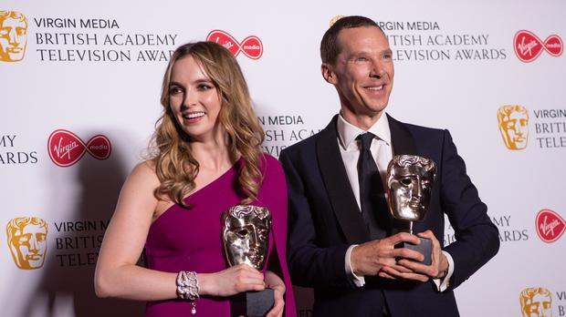 Jodie Comer and Benedict Cumberbatch (Matt Crossick/PA Images)