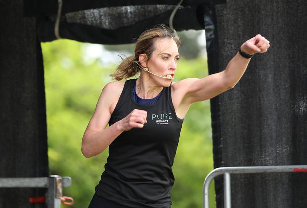 Kathryn Thomas on the KBC Main Stage at WellFest. Picture: Marc O'Sullivan
