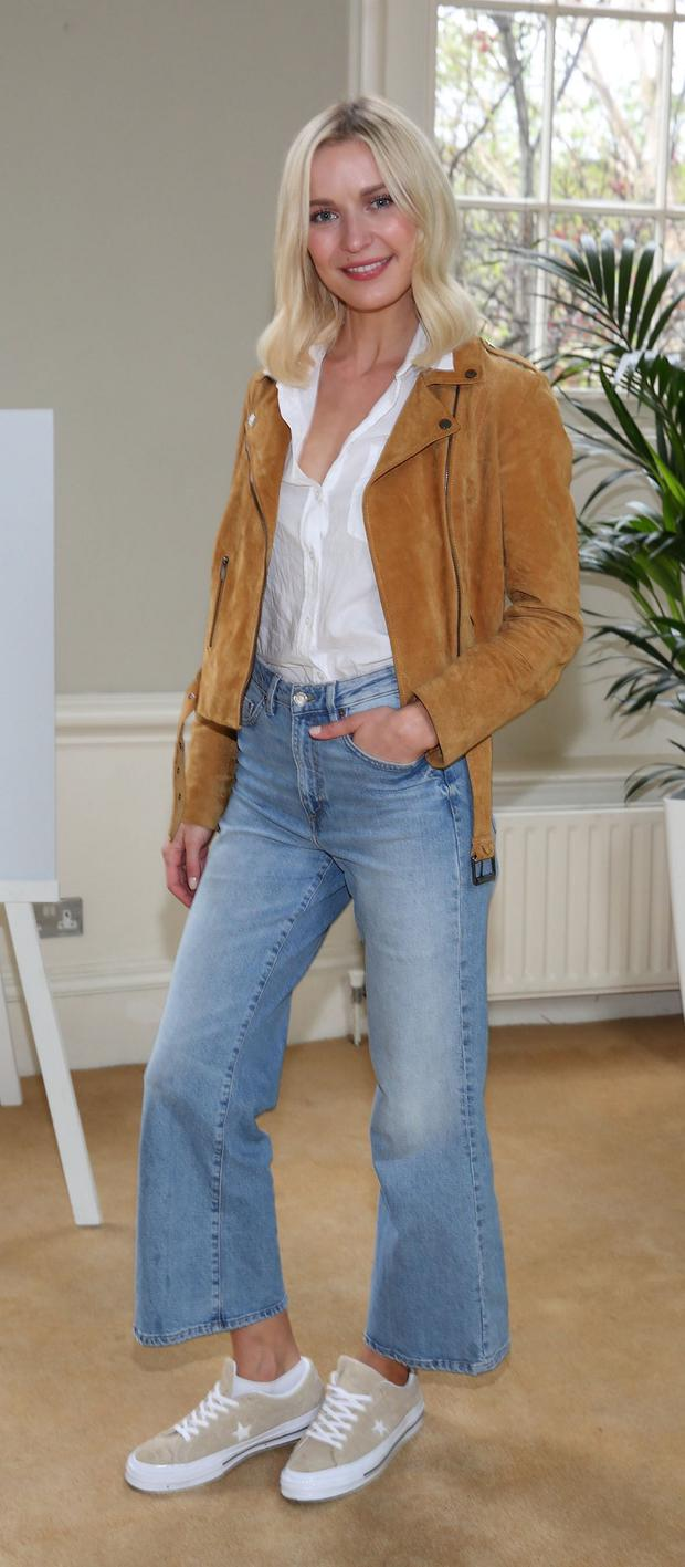 Teadora Sutra at the Garnier Organic Skincare launch at Taylor's Hall, Dublin. Picture: Brian McEvoy Photography