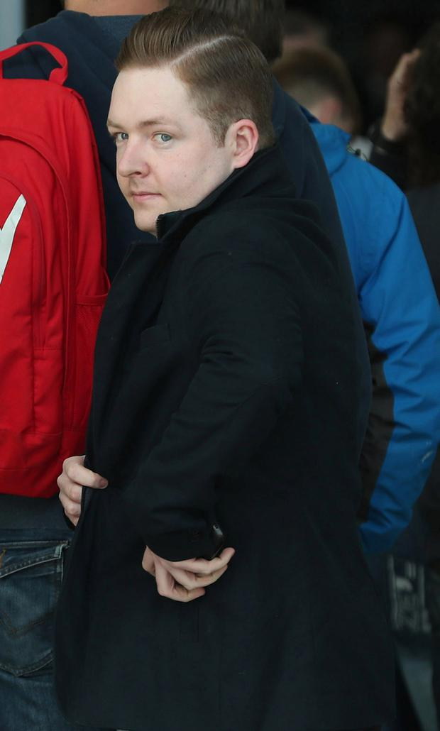 Fearghal O' Snodaigh pictured arriving at the CCJ