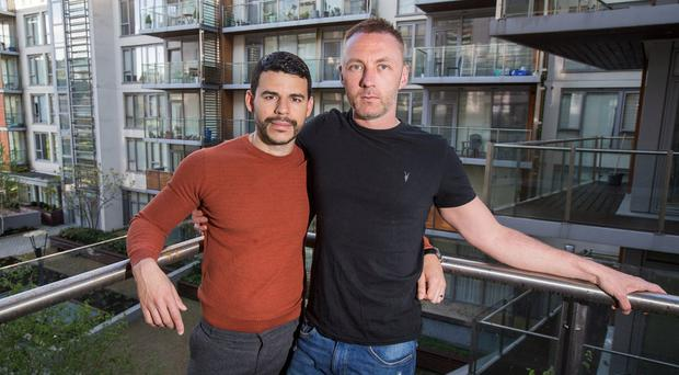 Gordon Hickey and his husband Joel Vivas got married two years ago and are finally in a position to get a mortgage - but the couple are frustrated they're still priced out of the market.