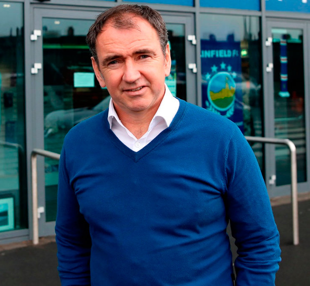 Pat Fenlon. Photo: Peter Morrison