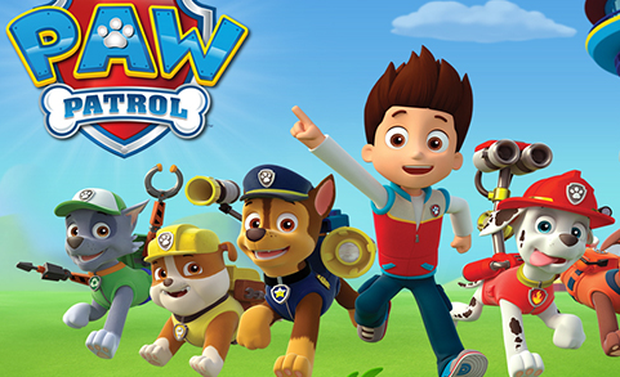 Paw Patrol is popular with tots