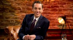 Mixed reaction: 'Late Late Show' host Ryan Tubridy. Photo: Andres Poveda