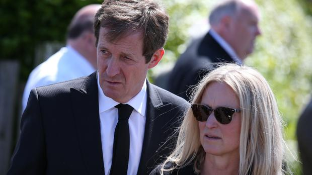 Fiona Millar has spoken about the illness of husband Alastair Campbell (Andrew Milligan/PA)