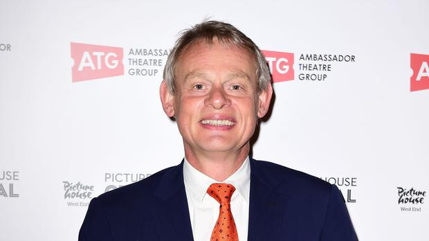 Actor Martin Clunes has been dropped as a patron of Born Free (Ian West/PA)