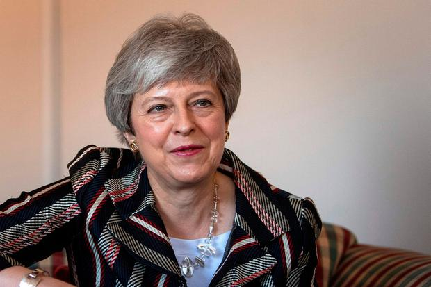 Theresa May: JPMorgan claims PM will not survive beyond end of June. Photo: AFP/Getty Images