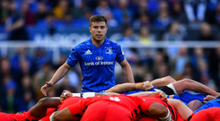 Luke McGrath of Leinster during the Heineken Champions Cup Final match between Leinster and Saracens at St James' Park in Newcastle Upon Tyne, England. Photo by Ramsey Cardy/Sportsfile