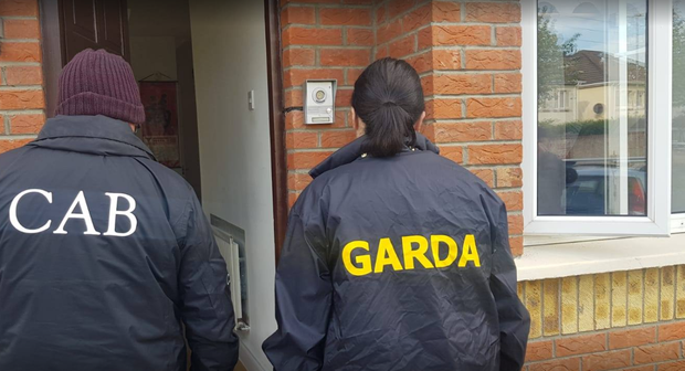 Four premises were raided this morning