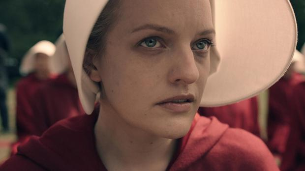The Handmaid's Tale was recently made in to a TV series, starring Elisabeth Moss (Channel 4/PA)