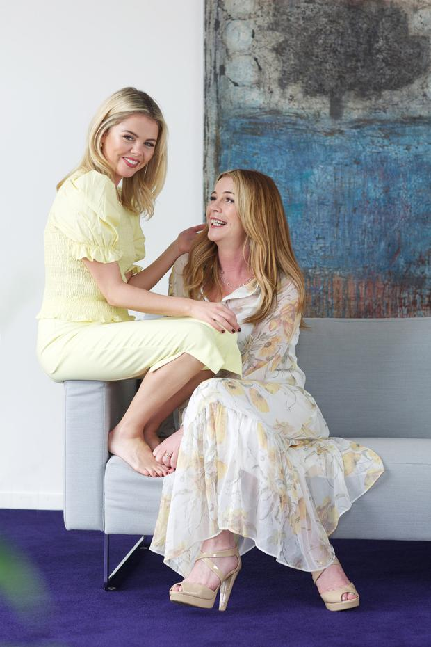 Saoirse-Monica Jackson and her mother Ruth for VIP Magazine. Picture: Emily Quinn/VIP Magazine