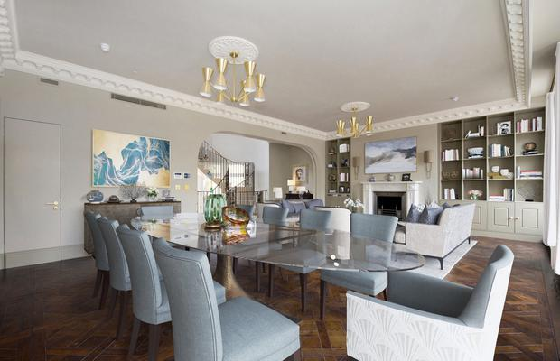 Withdrawn from market: Havona House in Notting Hill had an asking price of £25m