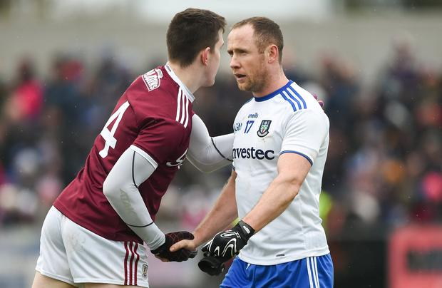 Vinny has been an ever-present in recent years for Monaghan and won Ulster Championship medals in 2013 and 2015. Photo: Daire Brennan/Sportsfile