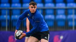 Garry Ringrose had some uncharacteristic errors in the European Cup final. Photo: Ramsey Cardy/Sportsfile