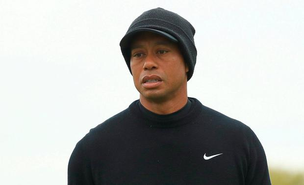 bc5b4aa736770 Tiger Woods suffering with a virus as he misses the cut at the US PGA  Championship