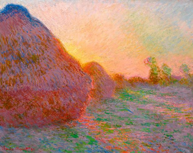 Evocative: 'Meules', from Monet's 'Haystacks' series