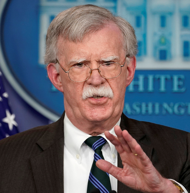 Risk-taker John Bolton is ready for war to break out