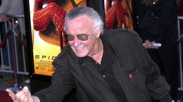 Spiderman creator Stan Lee was among the stars who made guest appearances on The Big Bang Theory (PA)