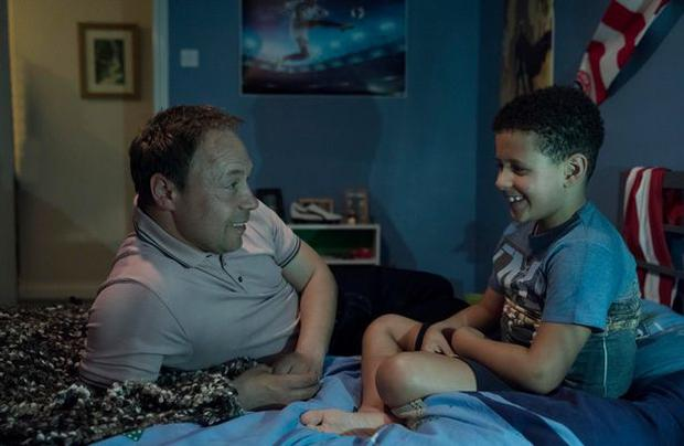 Stephen Graham and Shea Michael Shaw in The Virtues, Channel 4