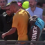 Nick Kyrgios after being defaulted from the Italian Open.