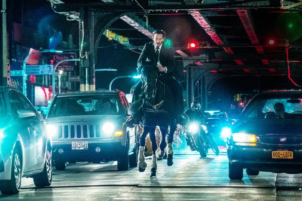 Keanu Reeves is being hunted down by every assassin in New York City in John Wick 3