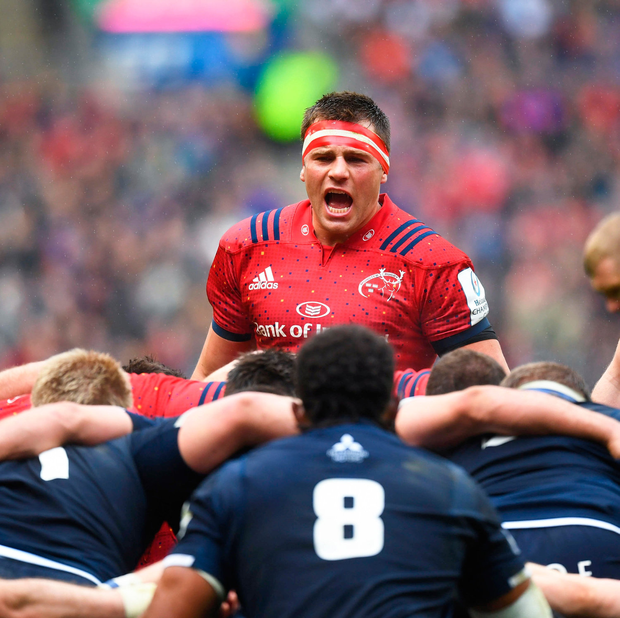 CJ Stander and the Munster back-row will be aiming to call the shots against Leinster