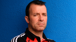 Taylor made: Sligo manager Paul Taylor is relishing the opportunity to pit his wits against Galway this weekend. Photo: Sportsfile