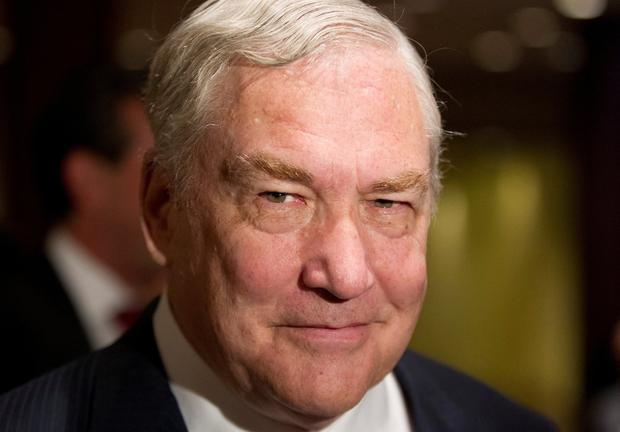 Barred: Conrad Black was deported from the US. Photo: REUTERS