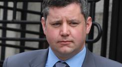Death threat: Fine Gael Councillor Ted Leddy also won damages. Picture: Collins