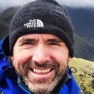 Fall: Trinity College professor and climber Seamus Lawless had reached the summit on Everest early yesterday morning and was starting the descent
