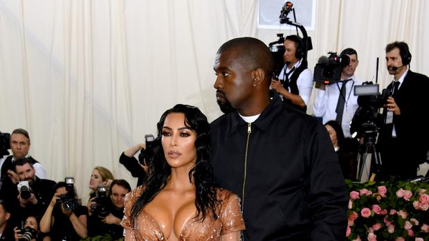 Kim Kardashian West dedicated a sweet post to Kanye West ahead of their fifth wedding anniversary (Jennifer Graylock/PA)