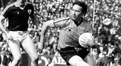 Powerful: Dublin legend Anton O'Toole - he knew his role and he executed it to perfection