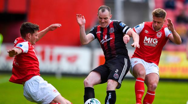 Daniel Mandroiu's wonder strike rescues a point for Bohs against St Pat's