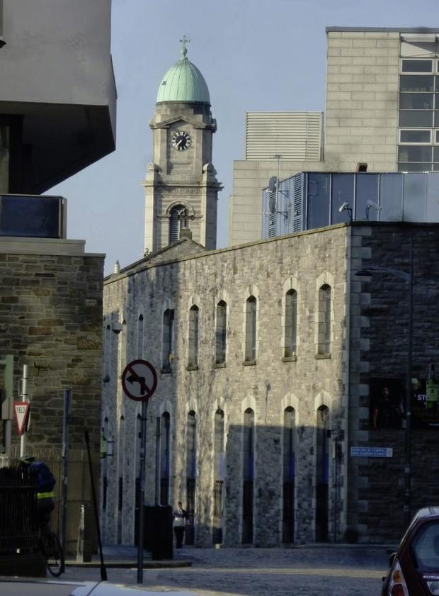 All change: The Irish Distillers Building in Smithfield before its demolition