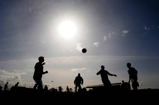Roscommon's superb second-half blitz completed a stunning comeback in the first round of the Connacht MFC at Dr Hyde Park. Stock photo: Sportsfile